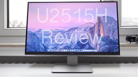 Dell Monitor U2515h review dell ultrasharp u2515h wqhd ips monitor
