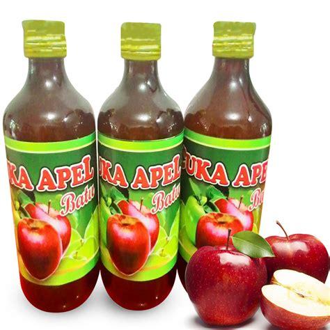 Cuka Apel Organik Apple Cider Vinegar Organic cuka apel batu organik apple cider vinegar organic elevenia