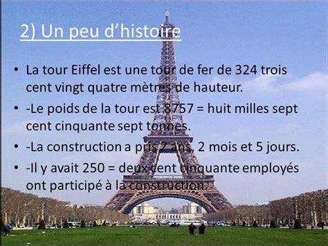 poids de la tour eiffel 278 la tour eiffel elina puype ppt t 233 l 233 charger