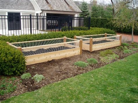 Buy Two Raised Bed Gardens Raised Garden Bed Fence Ideas