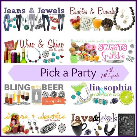 party themes for jewelry 17 best images about touchstone crystal party time on