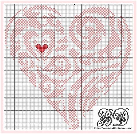 heart pattern for cross stitch heart free cross stitch pattern stitchery pinterest