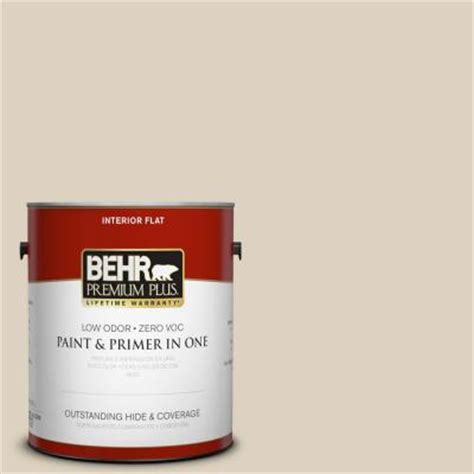 behr premium plus 1 gal or w7 sand flat interior paint 105001 the home depot