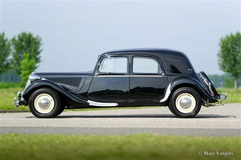 Citroen Traction Avant by Citro 235 N 15 Six Traction Avant 1951 Classicargarage De
