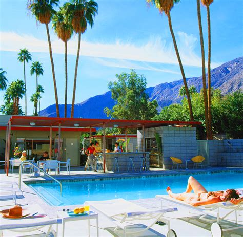 theme hotel palm springs architecture mid century desert hideaways two palm