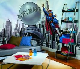 modern superman bedroom theme decor ideas for