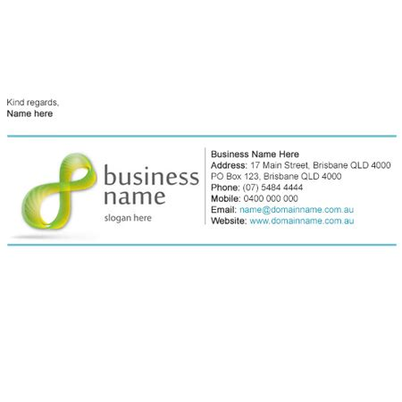 Business Card Email Signature Templates by Email Signature S B Company Registration
