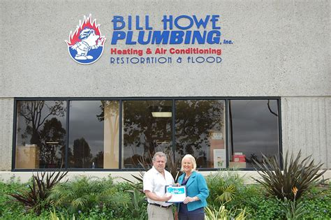 Bill Howe Plumbing San Diego by Bill Howe S It Executive Wins Quot It Of The Year Quot