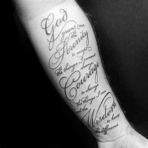 50 serenity prayer tattoo designs f 252 r m 228 nner uplifting
