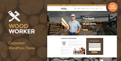 woodworkers web woodworker carpentry theme theme