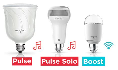 led light bulbs with wifi speakers sengled snap led light bulb with integrated ip