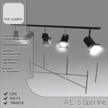 the lighting spot coupon second life marketplace promo a e sculpted 5 spot line