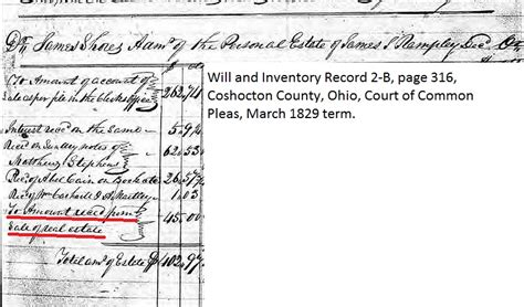 Coshocton County Records Money For Land I Cannot Find Part I Rootdig