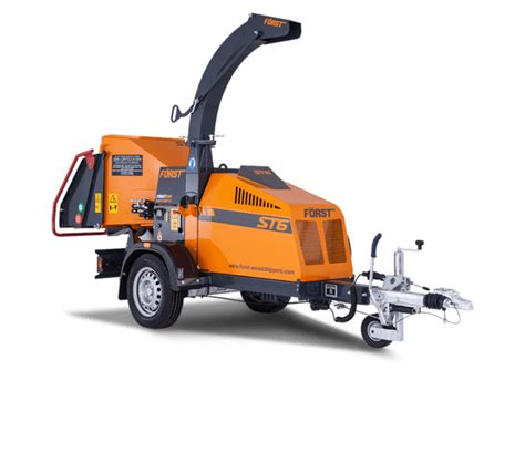 towable wood chipper foerst st  smiths hire