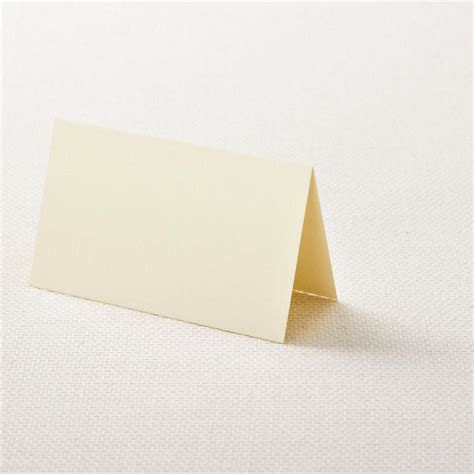 7 best images of printable folded place card template