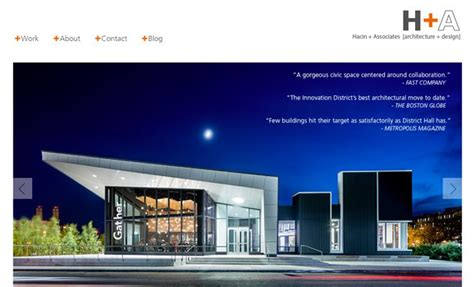 architecture design inspiration sites 26 inspirational architecture firm website designs idevie