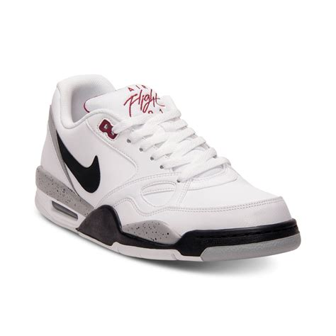 flight shoes for nike flight 13 low basketball sneakers in white for lyst