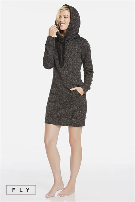 Id 3678 Hoody Dress clove fabletics