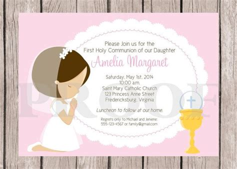 printable communion invitation kits 21 best images about religious events on pinterest gray