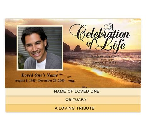 funeral program templates publisher pin by carole galassi on creative memorials graduated