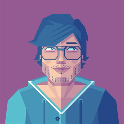illustrator tutorial geometric shape how to create a self portrait in a geometric style