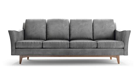 hamilton leather sofa by joybird