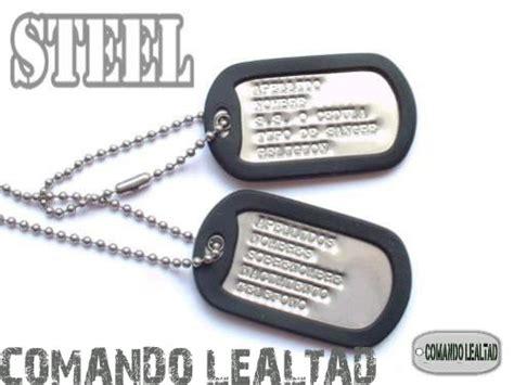 cadenas personalizadas con tu nombre colombia im 225 genes de placa de identificacion dog tag us army