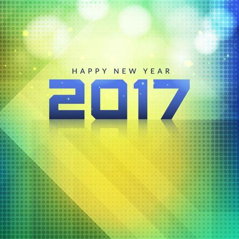 modern new year modern shiny new year 2017 background vector free