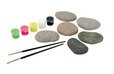 Paint Your Own Neon Stones Small Kit   Craft Kits   Art