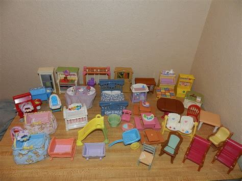 fisher price loving family dollhouse furniture accessories