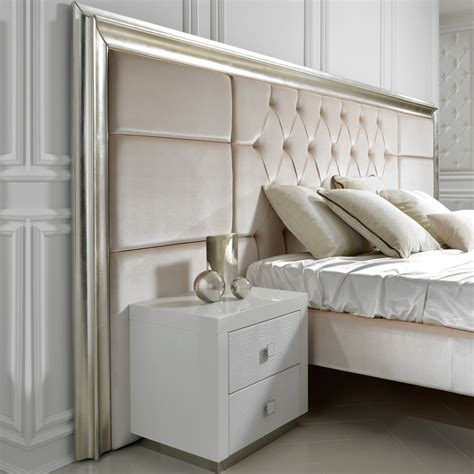 High End Headboards by High End Designer Italian Extended Headboard Bed