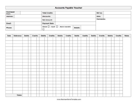 account payable template accounts payable invoice template