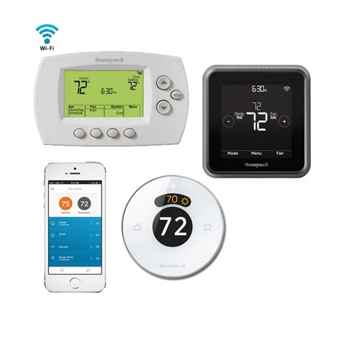 wifi thermostats electric floor heating honeywell