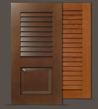 Louver Cabinet Doors Custom Louvered Doors Wood Shutters For Cabinets And Closets Walzcraft