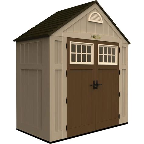suncast storage shed  cu ft model bms