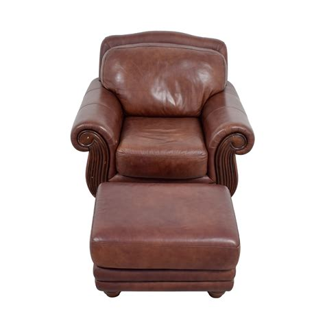 Rooms To Go Accent Chairs 54 Rooms To Go Rooms To Go Brown Leather Chair And Ottoman Chairs