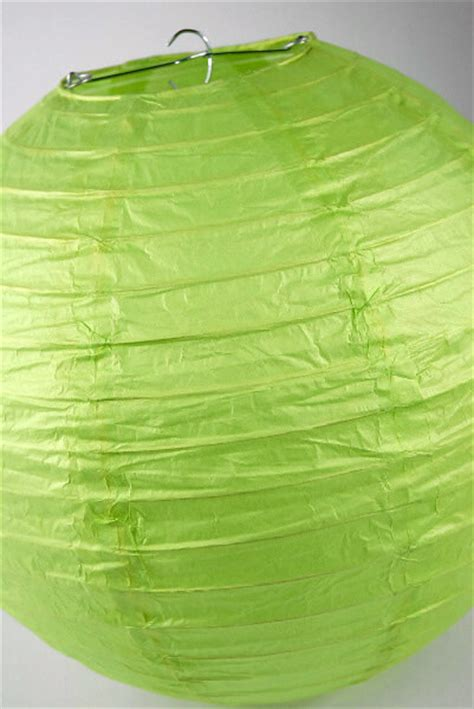 Green Craft Paper - paper lanterns 12 quot lime green