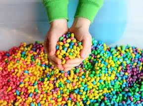 for colored play how to color beans for play and