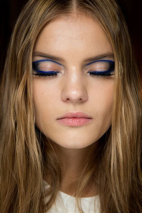 Makeup Versace kate grigorieva backstage at atelier versace couture