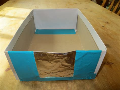 How To Make A Shoe Box Out Of Paper - solar 171 the kitchen pantry scientist
