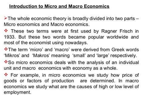 Meaning Of Formal And Informal Sources Of Credit Microeconomics Introduction And Basic Concepts