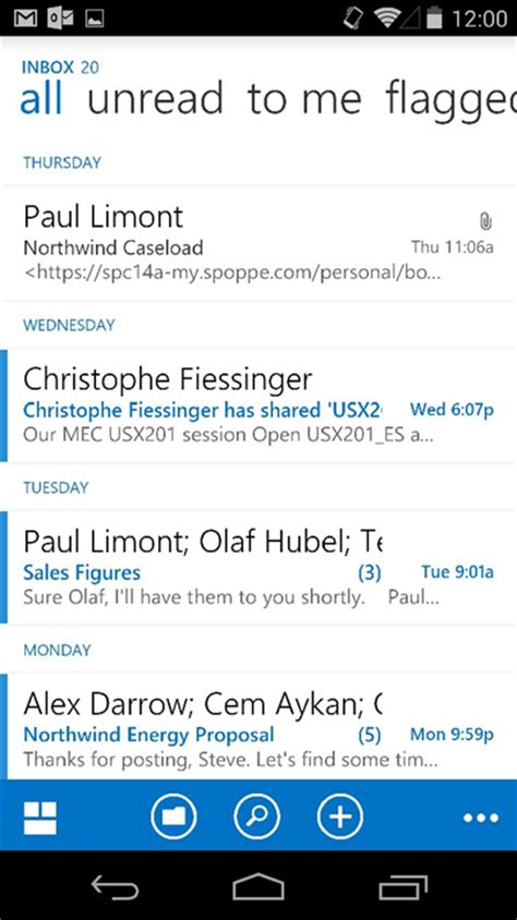 outlook web app android microsoft outlook coming to android soon