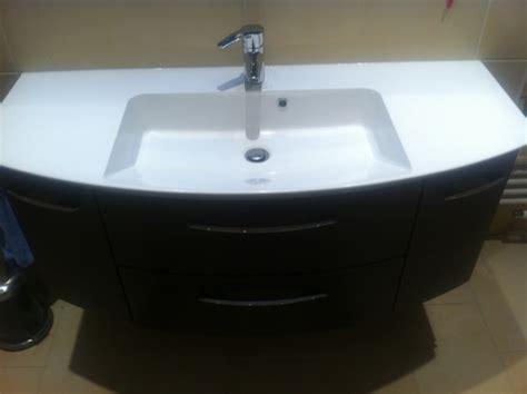 badezimmer waschtisch dusche und waschtisch bad ist fast komplett hausbau