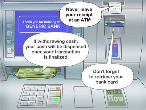 3 Ways To Safely Use An Atm Wikihow