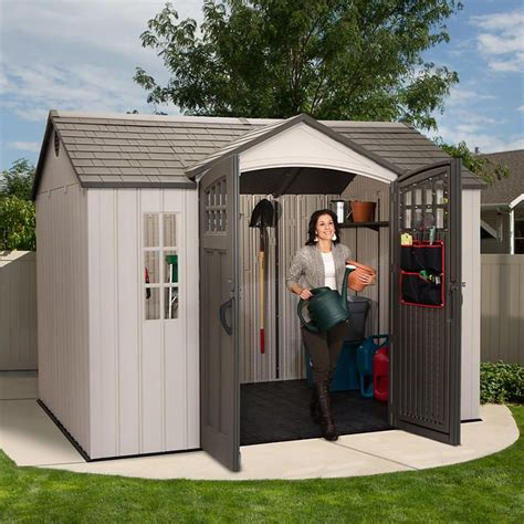 Lifetime Brighton 8 X 15 Storage Shed by 17 Best Ideas About Lifetime Storage Sheds On