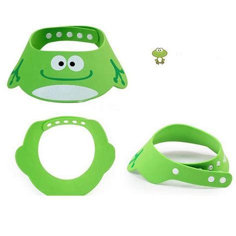 baby shower cap shoo visor bath visor baby hat toddler wash hair shield direct visor caps adjustable shoo bathing shower cap