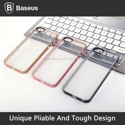 Baseus Feather Series Iphone Se 5s 5 Grey sunsky baseus for iphone 5 5s se feather series pc tpu combination grey