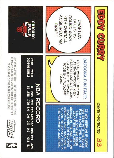 Choose Your Gift Card - 2005 06 bazooka basketball choose your cards ebay