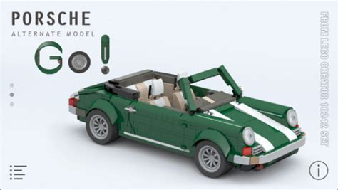 lego mini cooper porsche porsche for lego 10242 set building on the