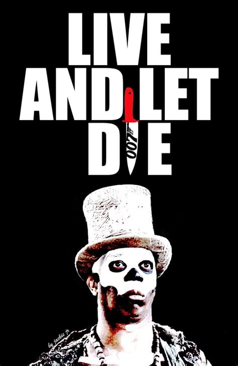 film james bond live and let die live and let die baron samedi poster 1973 mr kiss